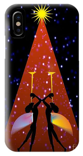 Red Noel  IPhone Case