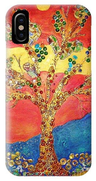 Red Oak IPhone Case