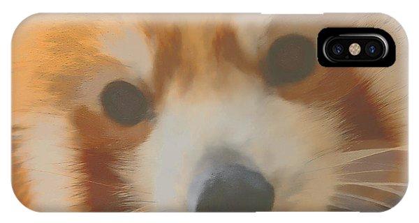 Red Panda Up Close IPhone Case