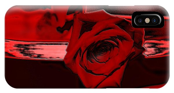 Red Passion. Rose IPhone Case