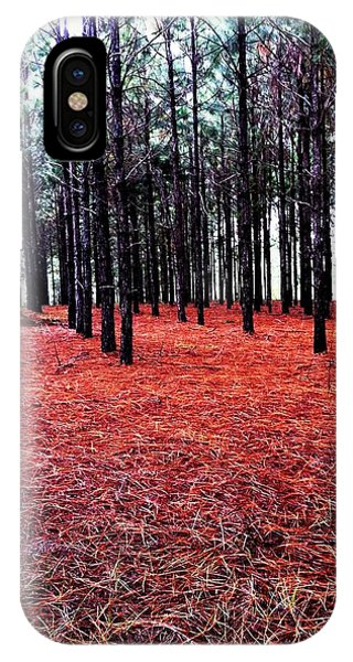 Red Path IPhone Case