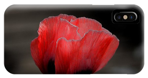 Red Poppy Flower IPhone Case