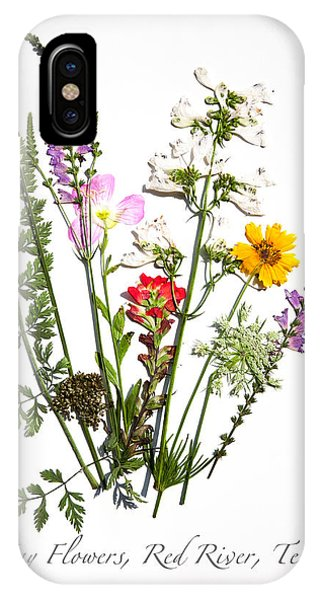 Red River May Flowers IPhone Case