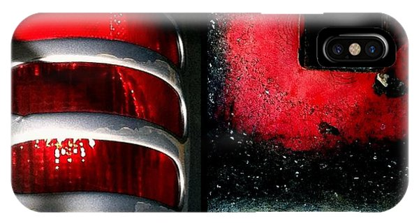 Red Road Rage IPhone Case