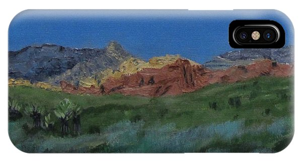 Red Rock Canyon Panorama IPhone Case