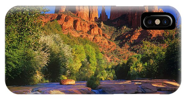 Red Rock Crossing Phone Case by Timm Chapman