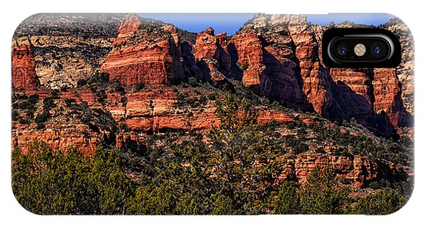 IPhone Case featuring the photograph Red Rock Sentinels by Mark Myhaver