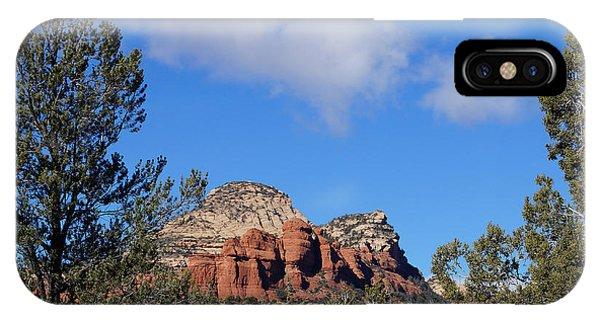 Red Rock Vista IPhone Case