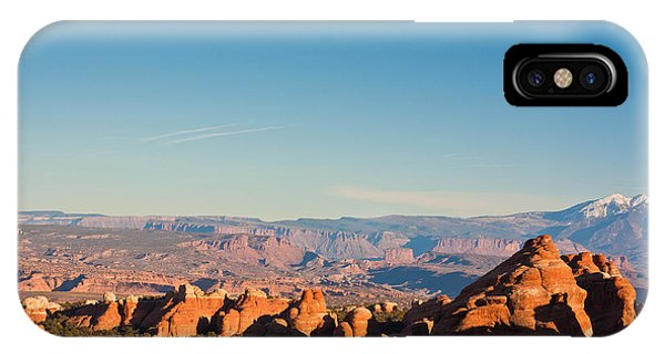 Red Rocks And The La Sal's IPhone Case