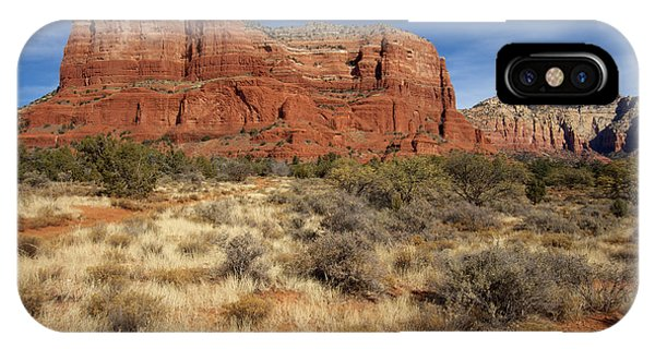 Red Rocks Of Sedona IPhone Case