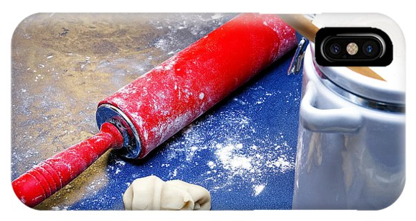 Red Rolling Pin IPhone Case