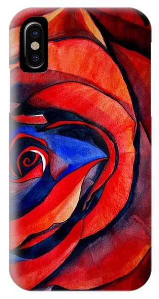 Red Rose Macro Phone Case by Sacha Grossel