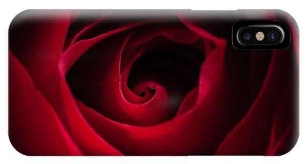 Red Rose Square IPhone Case