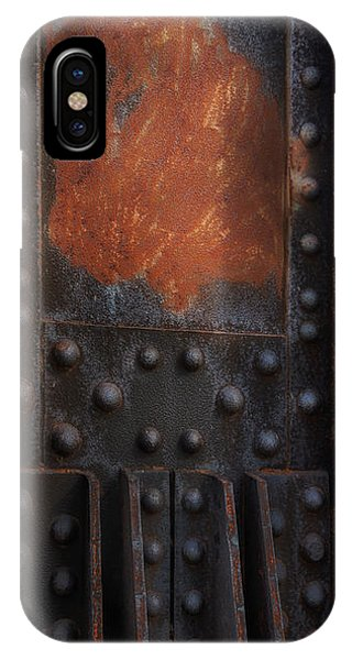 Red Rust Rivets IPhone Case