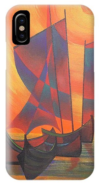 Red Sails In The Sunset IPhone Case