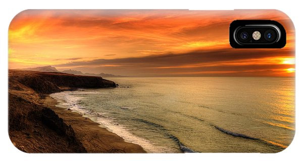 Red Serenity Sunset IPhone Case