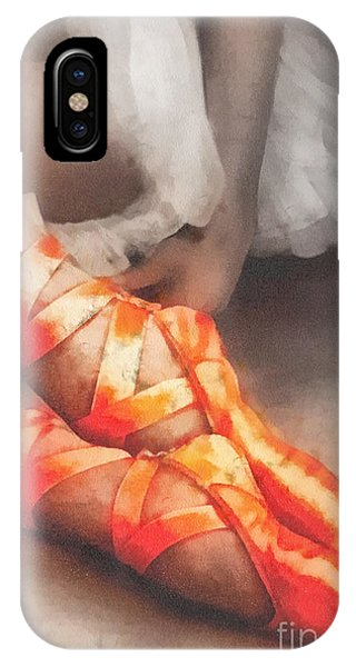 Mo iPhone Case - Red Shoes by Mo T