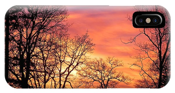 Red Sky At Night Sailor's Delight IPhone Case