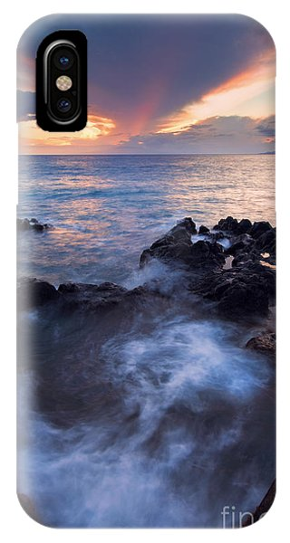 Cauldron iPhone Case - Red Sky Over Lanai by Mike  Dawson