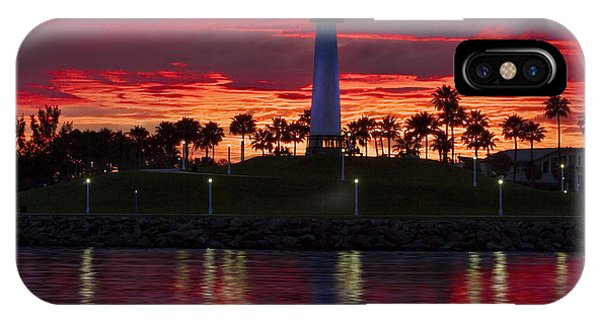 Red Skys At Night Denise Dube Photography IPhone Case