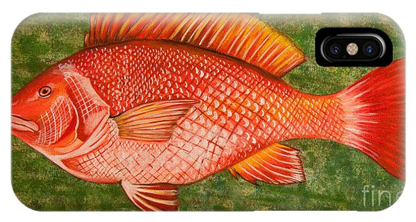Red Snapper IPhone Case