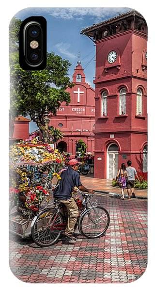 Red Square Malacca IPhone Case