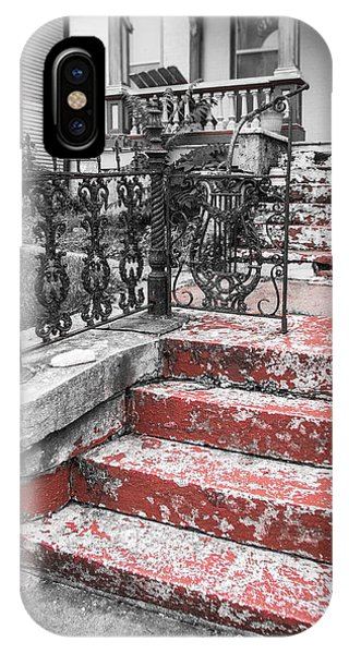 Red Steps IPhone Case