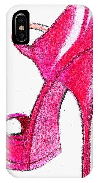 Red Stiletto IPhone Case