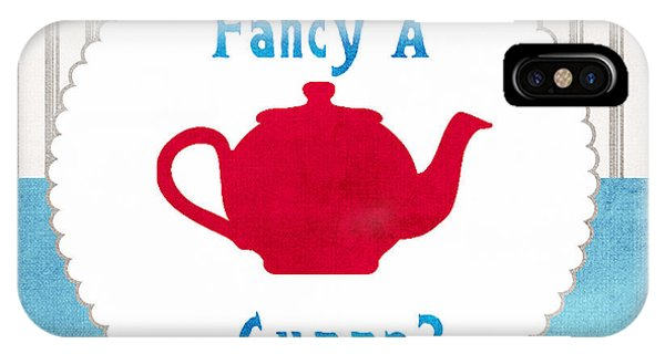 Red Teapot IPhone Case