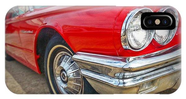 Red Thunderbird IPhone Case