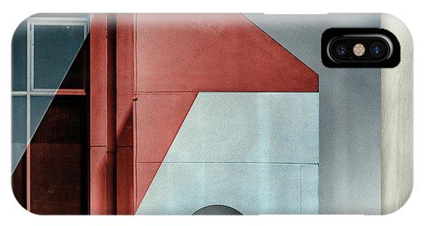 Red Transparency. Phone Case by Harry Verschelden