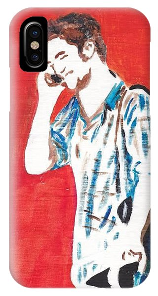 Red Tyler IPhone Case