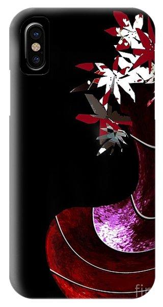 Red Vase IPhone Case