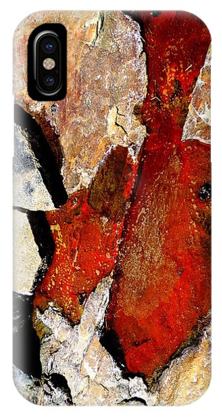 Red Veins IPhone Case