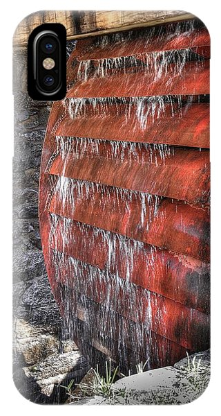 Red Water Mill IPhone Case