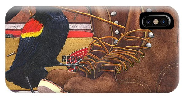 Red Wings IPhone Case