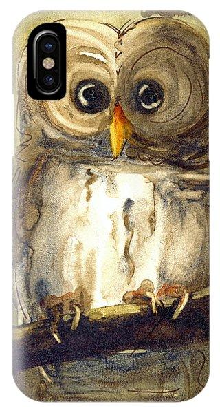 Redbird Cottage Owl IPhone Case