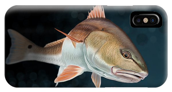 Redfish Inspection IPhone Case