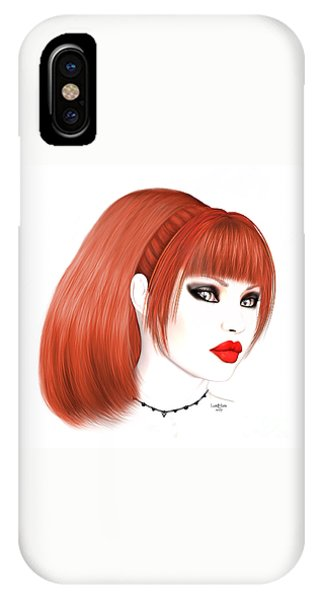 Luxmaris iPhone Case - Redhead Cassia by Renate Janssen