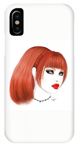 Luxmaris iPhone Case - Redhead Cassia by Renate Janssen