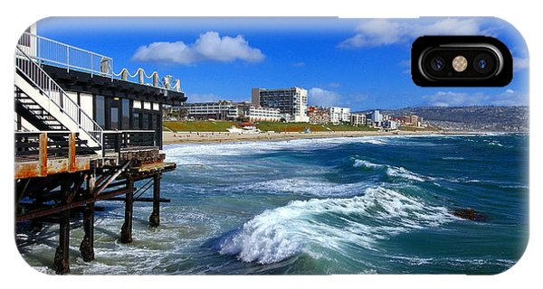 IPhone Case featuring the photograph Redondo Pier - Mike Hope by Michael Hope