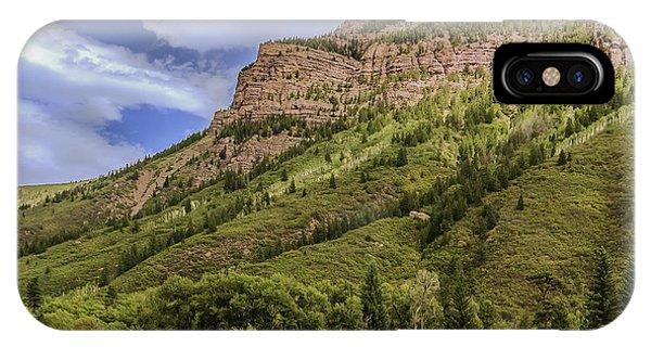 Redstone Cliffs At Redstone Colorado IPhone Case