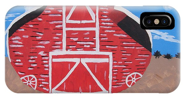 Redwood Farm Barn IPhone Case