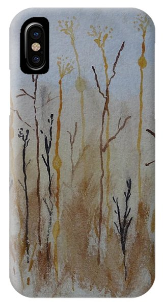 Reeds And Weeds Phone Case by Catherine Arcolio