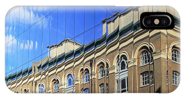 Reflected Building London IPhone Case