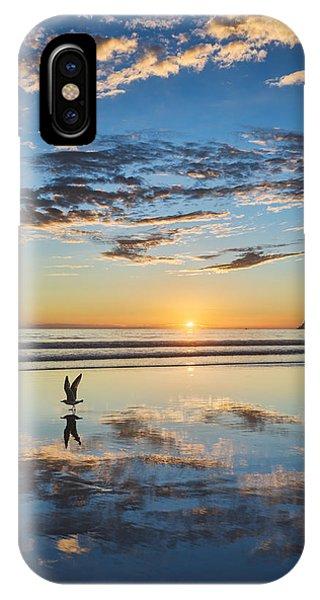 Reflected Flight IPhone Case