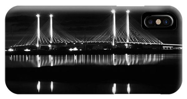 Reflecting Bridge IPhone Case