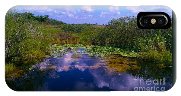 Reflecting In The Glades IPhone Case