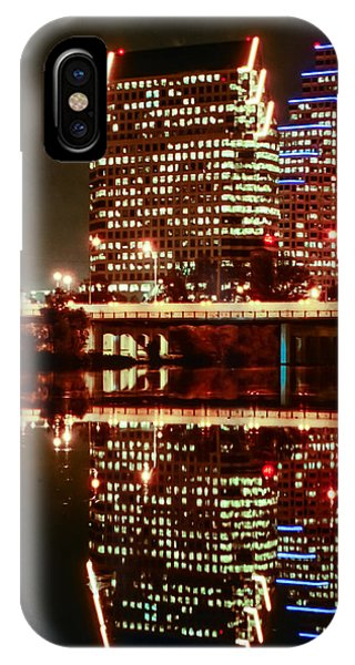 Reflecting On Austin IPhone Case