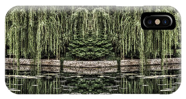 Reflecting Willows IPhone Case